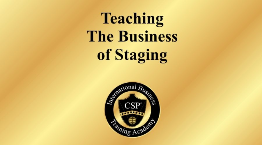 Home staging industry expert to teach a 3-day course in Mississauga!