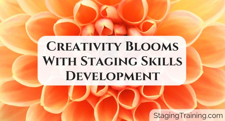 blooming flower for skills development