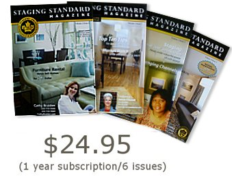 staging standard magazine covers
