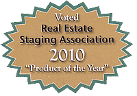 voted 2010 RESA product of the year badge