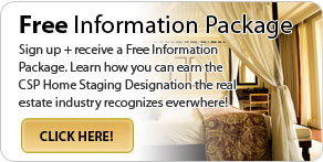 free home staging certification package