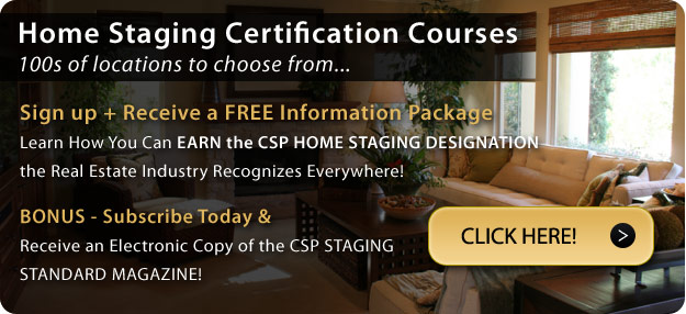 Home Staging Getting Certified Information Package button