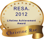 2012 RESA Lifetime Achievement Award for Christine Rae