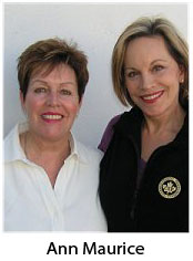Christine Rae and Ann Maurice photo