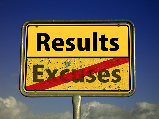 results not excuses - habits for stagers