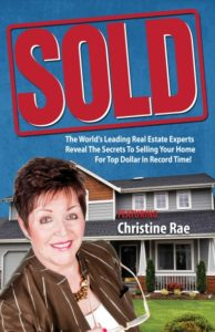 Sold featuring Christine Rae book cover - real estate experts staging