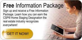 free home staging certification information package