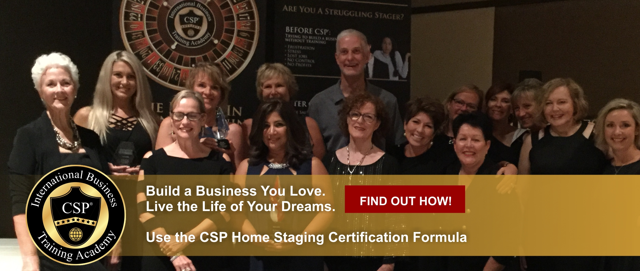 award winning certified home stagers