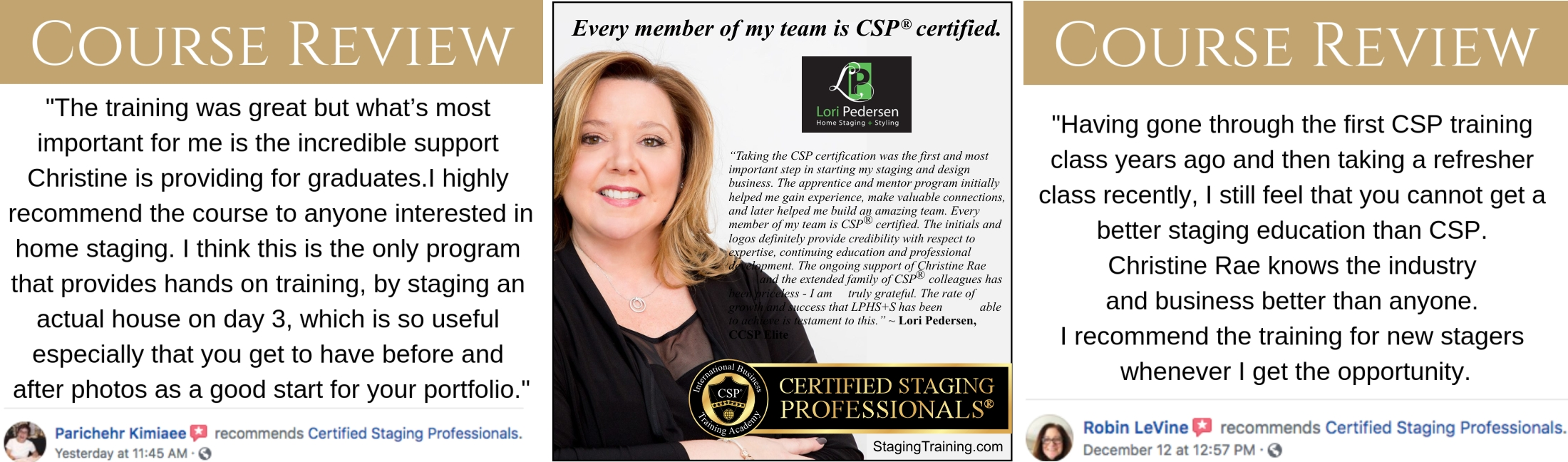 CSP testimonials
