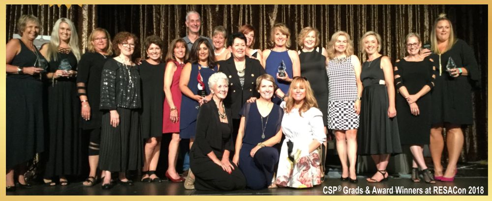 CSP RESAcon 2018 award recipients
