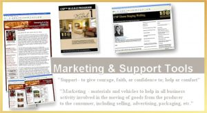 marketing & support tools