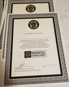CSP® Residential Staging Expert™ Certificate