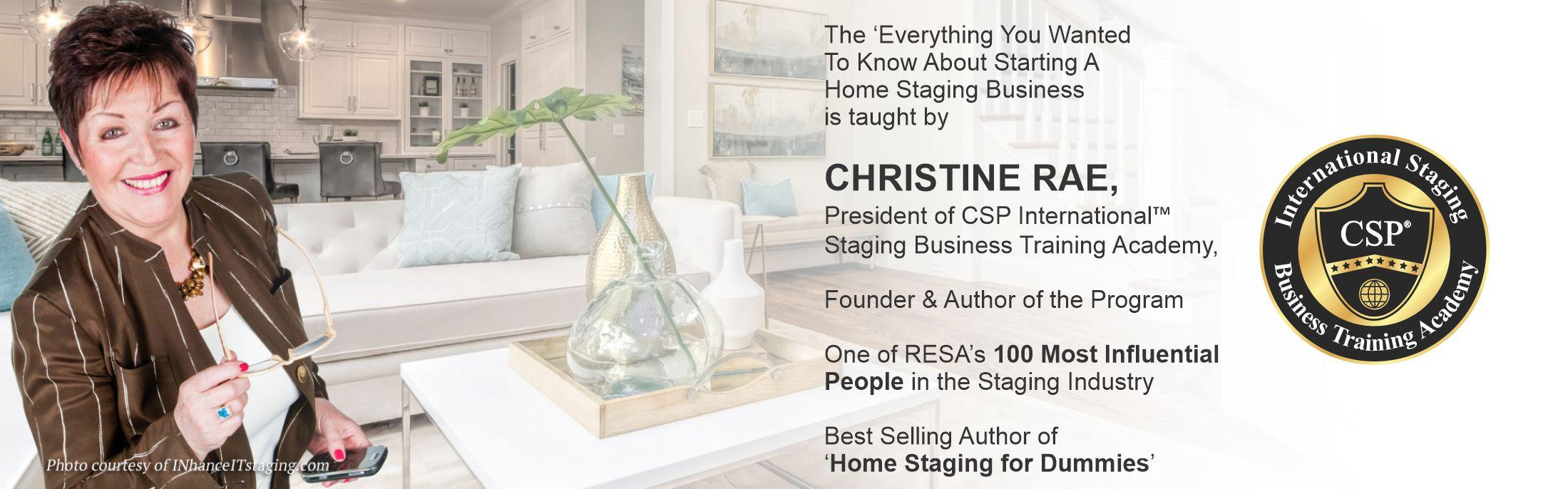 Christine Rae - and her brief bio
