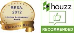 resa lifetime achievement award, houzz recommended