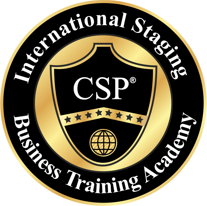 CSP International logo - staging training