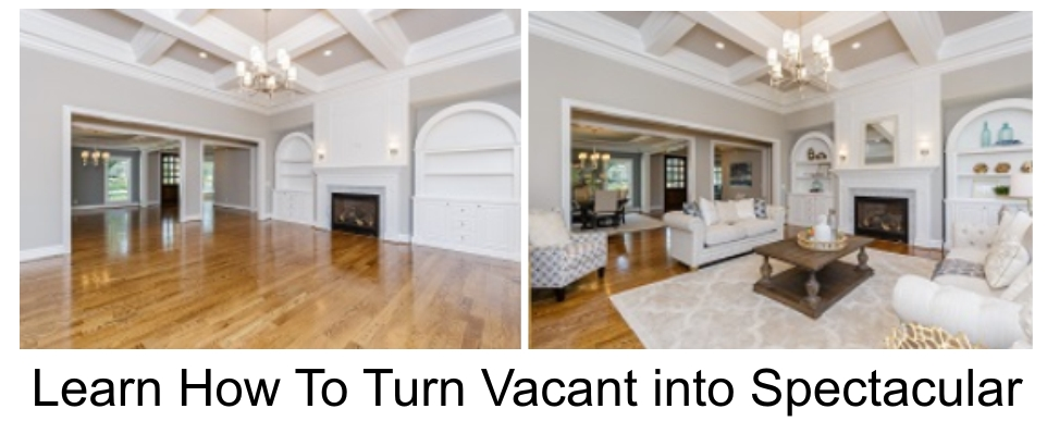 vacant room, staged room