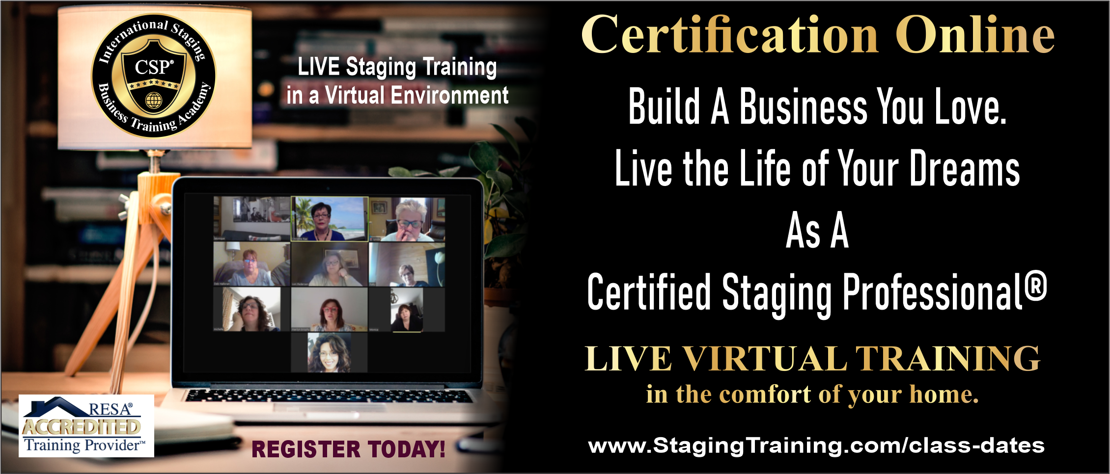 live virtual staging certification