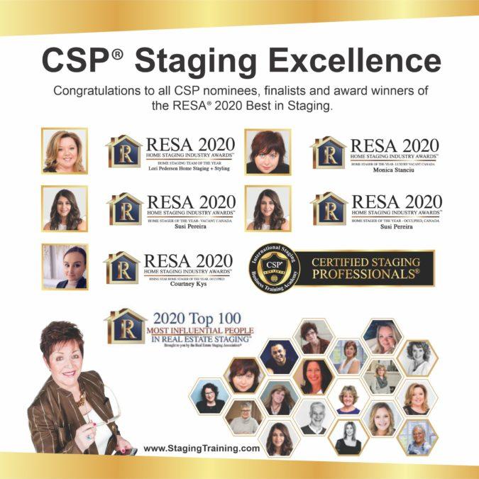 CSP 2020 Resa Award Winners best in staging