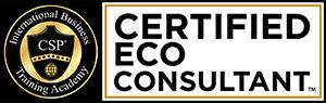 Certified Eco Consultant course designation logo