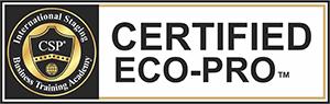 Certified Eco-Pro Course designation logo