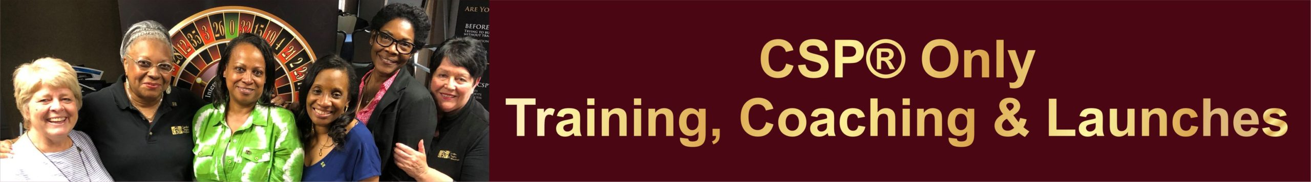 csp only training, coaching and launches