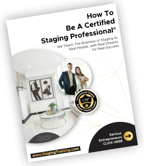 How to be a certified staging professional ebook