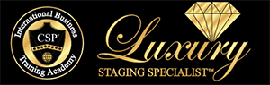 luxury staging specialist logo designation