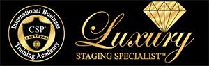 luxury staging specialist logo designation