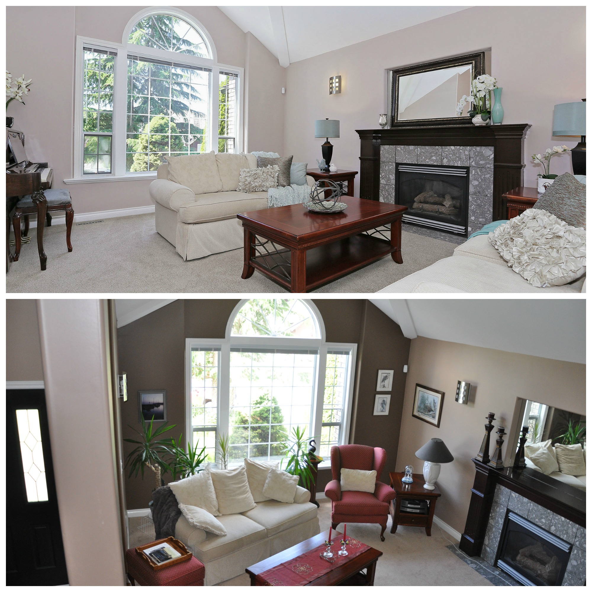 after and before staging